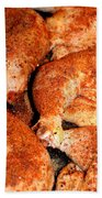 Spicy Chicken Beach Towel