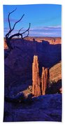 Spider Rock Beach Towel