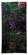 Spider Web In The Magic Forest Beach Towel