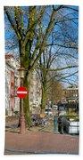 Spiegelgracht 36. Amsterdam Beach Towel