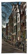 Spiegelgracht Gallery. Amsterdam Beach Sheet