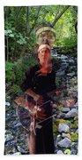 Spirit Rising From The Creek Beach Towel