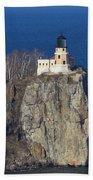 Split Rock Lighthouse 76 Beach Towel