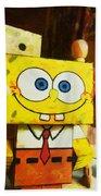 Spongebob Always Loves The Group Hugs Beach Towel