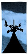 Spooky Silhouette Beach Towel by Al Powell Photography USA