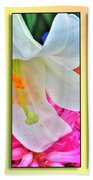 Spring Again Triptych Series Beach Towel