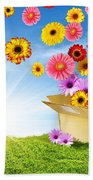Spring Delivery Beach Towel