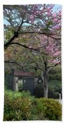 Spring In Bloom At The Japanese Garden Beach Towel