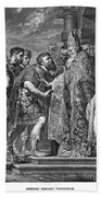 St. Ambrose & Theodosius Beach Towel