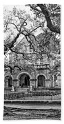 St. Charles Ave. Mansion Monochrome Beach Towel