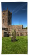 St Davids Cathedral 6 Beach Towel