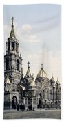 St. Demitry Church - Charkow - Ukraine - Ca 1900 Beach Towel