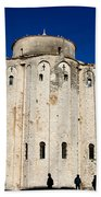 St. Donatus Church In Zadar Beach Towel