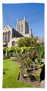St Edmundsbury Cathedral Beach Towel