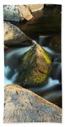 St Francis River At Dusk II Beach Towel