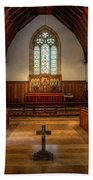 St John's Church Altar - Filey  Beach Towel