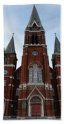 St. Josaphat Roman Catholic Church Detroit Michigan Beach Towel by Gordon Dean II