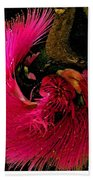 St Kitts Flora Beach Towel