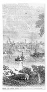 St. Louis, Missouri, 1854 Beach Towel