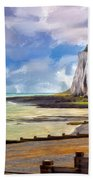 St. Margaret's Bay At Dover Beach Towel
