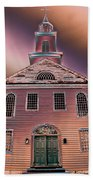 St. Mary's Episcopal Church In Pastel Beach Towel