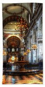 St Paul Cathedral Interior Beach Towel