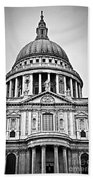 St. Paul's Cathedral In London Beach Towel
