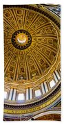 St Peter's Basilica Dome  Beach Towel