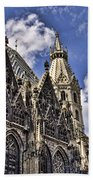 St Stephens Cathedral - Vienna Beach Towel