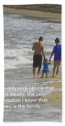 Stability Of Family Beach Towel