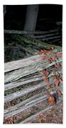 stacked Fence Beach Towel