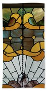 Stained Glass Lc 01 Beach Towel