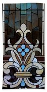 Stained Glass Lc 03 Beach Towel