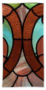 Stained Glass Lc 05 Beach Towel
