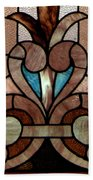 Stained Glass Lc 06 Beach Towel