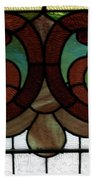 Stained Glass Lc 08 Beach Towel