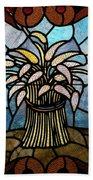 Stained Glass Lc 11 Beach Towel