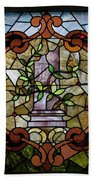 Stained Glass Lc 12 Beach Towel by Thomas Woolworth