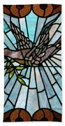 Stained Glass Lc 14 Beach Towel