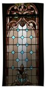 Stained Glass Lc 15 Beach Towel