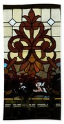 Stained Glass Lc 16 Beach Towel