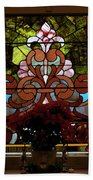 Stained Glass Lc 17 Beach Towel