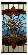 Stained Glass Lc 20 Beach Towel