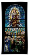 Stained Glass Pc 01 Beach Towel