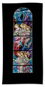 Stained Glass Pc 07 Beach Towel