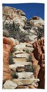 Staircase Stones Beach Sheet