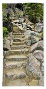 Staircase To Eagle Falls Lake Tahoe Beach Sheet