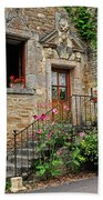 Stairway Provence France Beach Towel