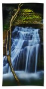 Standing In Motion Beach Towel