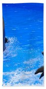 Standing To Attention Beach Towel